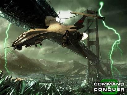 Command Conquer Tiberium Wars Wallpapers Bridge Golden