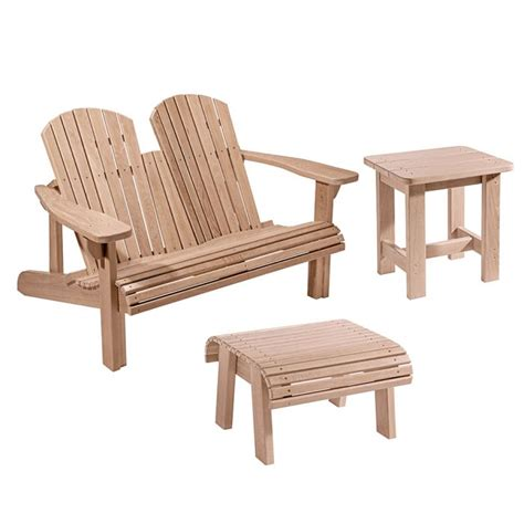 adirondack bench plans  templates  foot stool