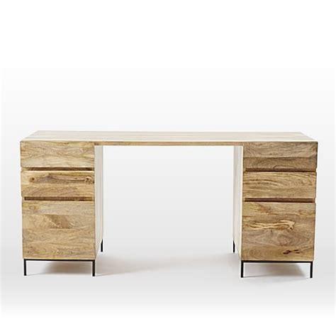 west elm industrial desk industrial modular desk set 2 box files west elm
