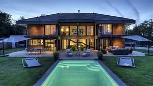 Ossature Bois Maison : maisons ossature bois ventana blog ~ Melissatoandfro.com Idées de Décoration