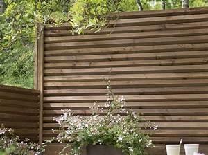 Idee Cloture Jardin : id e jardin une cl ture pour s isoler elle d coration ~ Melissatoandfro.com Idées de Décoration