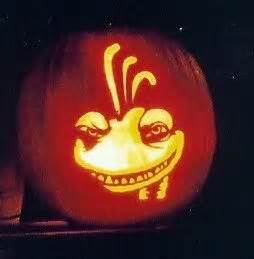 17 best images about monster inc pictures on pinterest for Sully pumpkin template