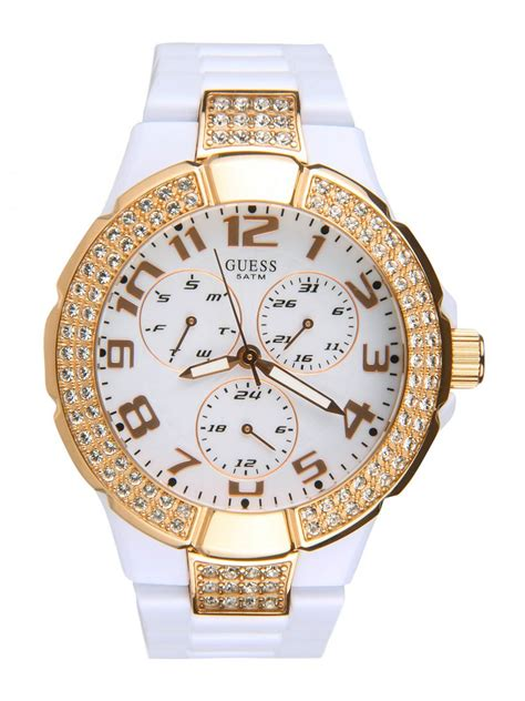 Guess 20563 Gold White guess prism white watches
