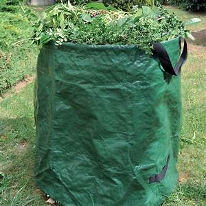 Sac A Dechet Vert : sac d chet 65x75 cm 270l avec arceau et poign es gamm ~ Dailycaller-alerts.com Idées de Décoration