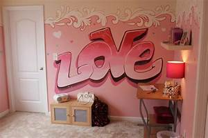 Graffiti Murals for Bedrooms Girls   Girls Bedroom Ideas ...