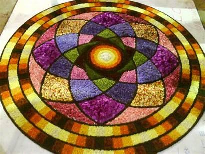 Rangoli Diwali Designs Flower Flowers Floor Awesome
