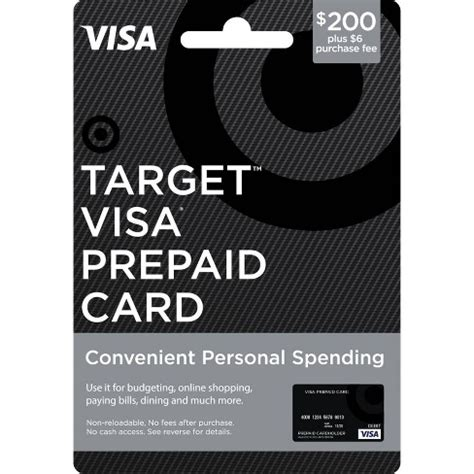 For example, target gift cards, prescriptions, eye exam services and target optical products are ineligible for the 5% discount. Visa Prepaid Card - $200 + $6 Fee : Target