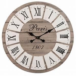 horloge d 65 cm honore maisons du monde With horloge maison du monde