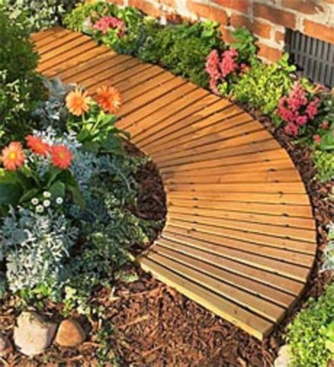 61 diy recycled furniture on a budget wartaku cheap and practical garden path and walkway ideas 54