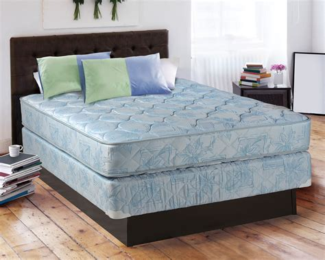 size mattress and boxspring set comfort classic gentle firm blue size mattress and