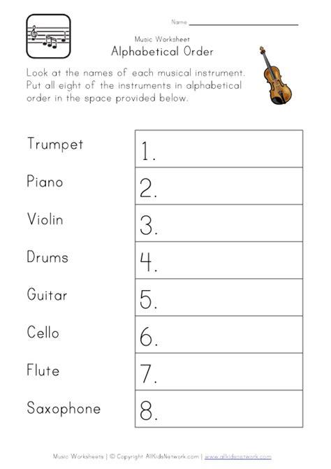 Alphabetical Order For Kindergarten Worksheets  Alphabetical Order Worksheets For Kids Page 3