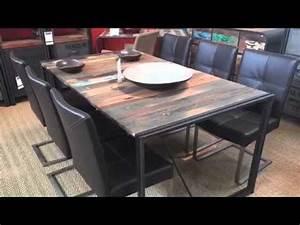 Mobilier Bois Design : design industriel mobilier contemporain bois m tal youtube ~ Melissatoandfro.com Idées de Décoration