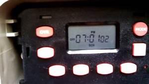 How To Set The Tork E101b Time Clock