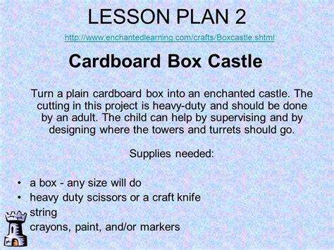 Castles And Castle Lesson Plans
