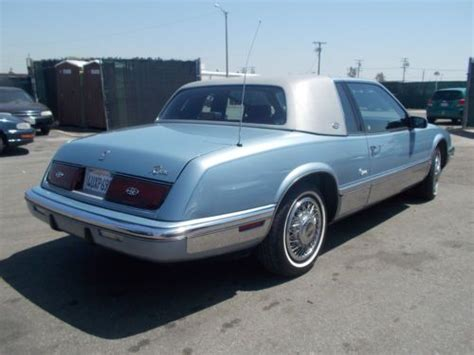 Buick Riviera 1989 by Find Used 1989 Buick Riviera No Reserve In Anaheim