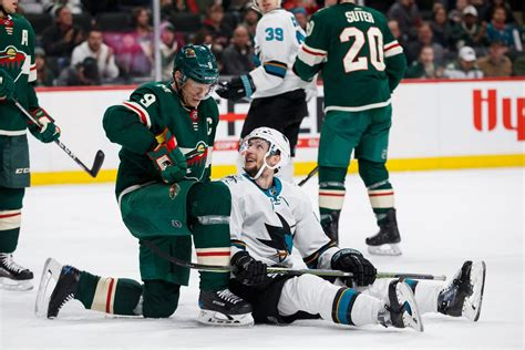 wild  sharks preview home ice     sharks fear  fin