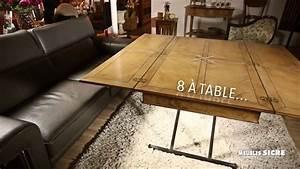 Table Basse Multifonction : meubles sicre table basse multifonction gain de place ~ Premium-room.com Idées de Décoration