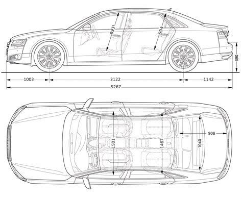 standard car width standard size car dimensions audi a8l pictures johnywheels