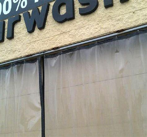heavy duty outdoor curtains industrial exterior curtain
