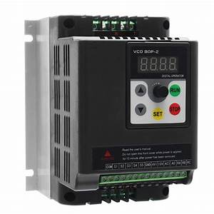 1 5kw 220v Single To 3 Phase Vfd Variable Frequency