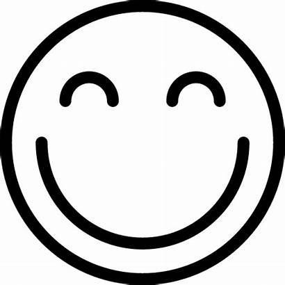 Smile Icon Icons Outline Line Happy Iconsmind