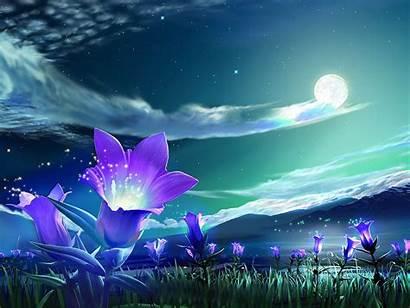 Purple Magic Flowers Pretty Hearts Clipart Yopriceville