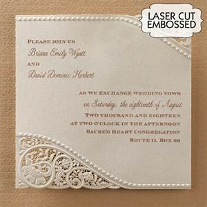 vintage lace wedding invitations laser cut With cheap lace wedding invitations australia