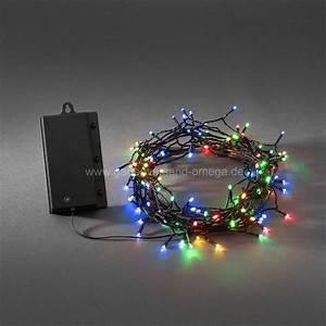 Lichterkette Außen Weihnachten : bunte led lichterkette f r au en batteriebetrieben farbenfrohe christbaumlichterkette bunte ~ Frokenaadalensverden.com Haus und Dekorationen