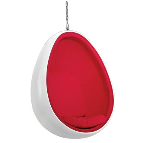 mod imports egg hanging chair fmi2208 white