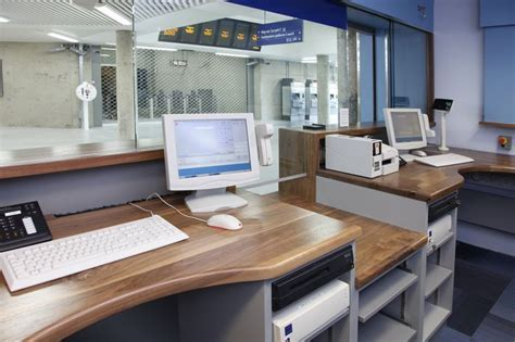 Ticket Office Counter   Interior Equipment layout and