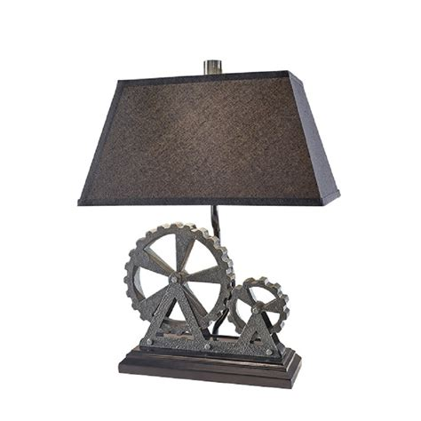 Black And Grey Industrial Themed Table Lamp With Black. Spool Pool. Hammered Metal Pendant Light. Small Utility Sink. Wall Decor Ideas For Bedroom. Decorative Tile Inserts. Pottery Barn Style. Black And Gold Desk. Alan Smith Pools