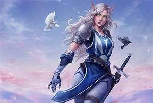 Warrior, Fantasy, Art, Armor, Sword, World, Of, Warcraft, Wallpapers, Hd, Desktop, And, Mobile, Backgrounds