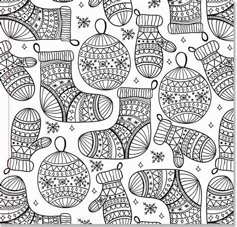 intricate christmas coloring pages az coloring pages