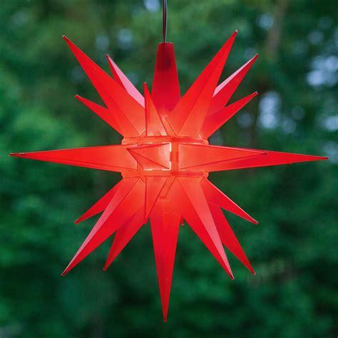 moravian stars  red led moravian star