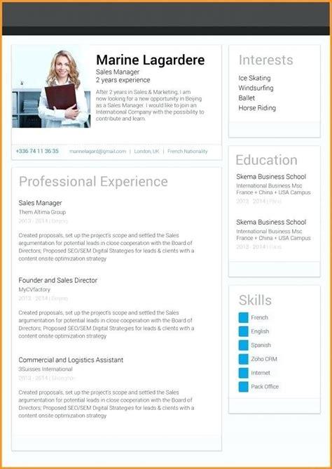 great linkedin resume template ideas resume template