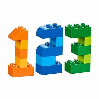 Lego Duplo Classic Numbers Instructions Legos Blocks