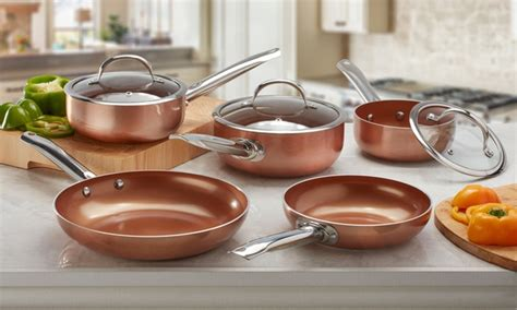 cooks professional cookware set groupon