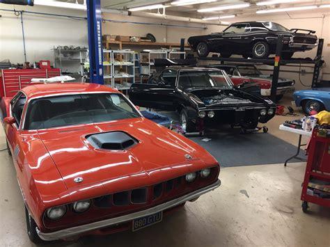 Car Garage by Ken Maisano S Mascar Autobody Garage In Costa Mesa