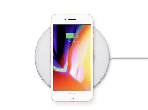 iphone 8 wireless charging apple unveils new iphone 8 8 plus with glass backs