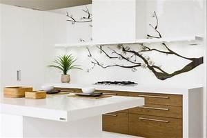 Küchenrückwand Ideen Günstig : k chenr ckwand g nstig mit eigenem motiv gestalten k che zenideen ~ Buech-reservation.com Haus und Dekorationen