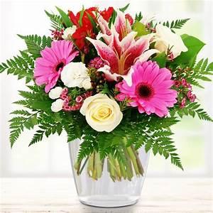 Bilder Von Blumenstrauß : blumenstrau lilie zum geburtstag nach anlass blumenstr u e blumenversand ~ Buech-reservation.com Haus und Dekorationen