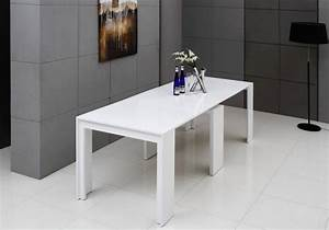 table a manger extensible pour votre salle manger moderne With salle À manger contemporaineavec table a manger extensible