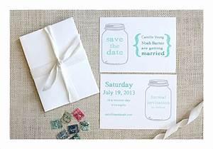 wedding invitation template mason jar weddingpluspluscom With mason jar wedding invitations free download