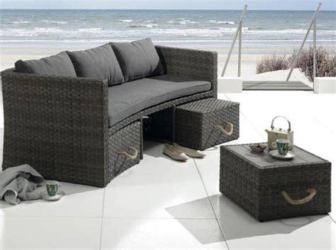 canapé jardin pas cher canape resine tressee exterieur 7 50 meubles de jardin