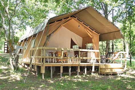 bos cuisine safaritent gling privé badkamer dordogne keren