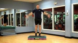 Basic Step Aerobics Workout Jonathonu002639s Fitness Youtube