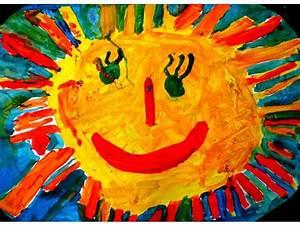 Gemalte Bilder Von Kindern : 39 von kindern gemalte sonne 39 fr hlingsgottesdienst der s dkita am 20 m rz 2009 im kirchsaal ~ Markanthonyermac.com Haus und Dekorationen