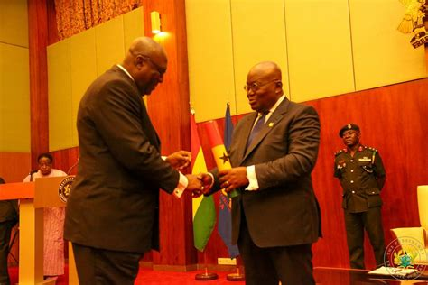AkufoAddo swears in first batch of ambassadors [Photos