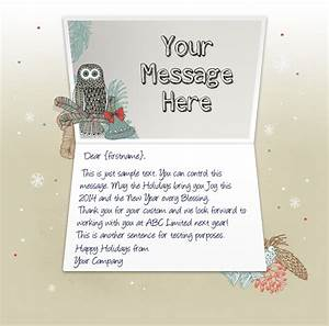 christmas greeting letter merry christmas happy new With christmas card letters sample