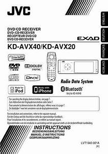 Jvc Kd Avx40 Car Radio Download Manual For Free Now